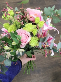 Hand Tied bouquet workshop Wednesday 29th April