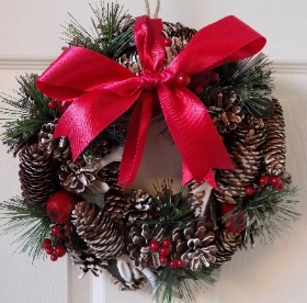 Red Artificial Wreath