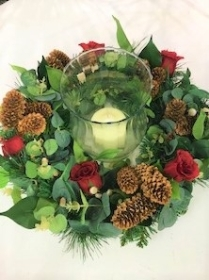Artificial or Fresh Christmas or Wreath Table Arrangement workshop Saturday 23rd November 2.00 pm DEPOSIT