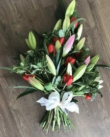 Lily Hand Tied Sheaf