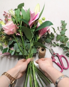 Monthly DIY Subscription Flowers