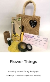 'Flower Things'  Floristry Kit