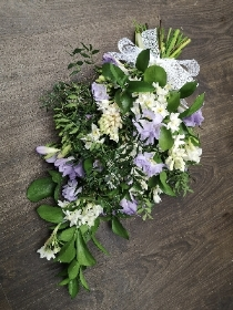 Lilac and Cream Hand Tied Sheaf