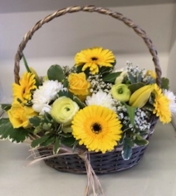 Yellow Seasonal basket